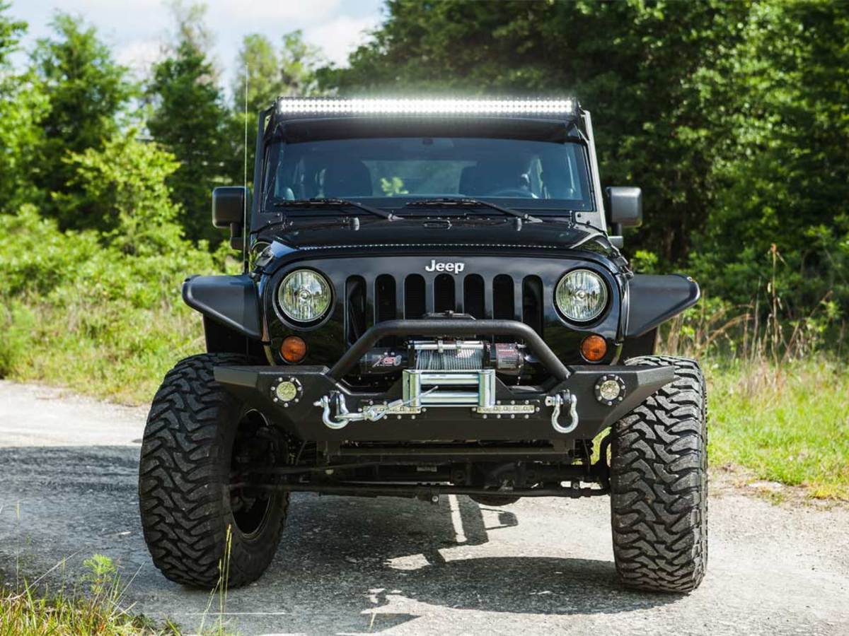 2014 Wrangler W Pro Comp Suspension Lift Kit On 18x9 Wheels Jeep With Fuel Gripper M T Tires