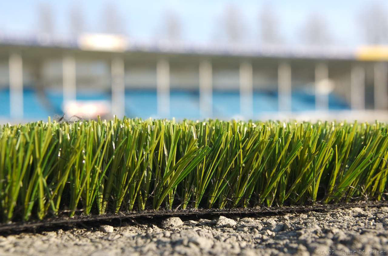artificial grass or turf