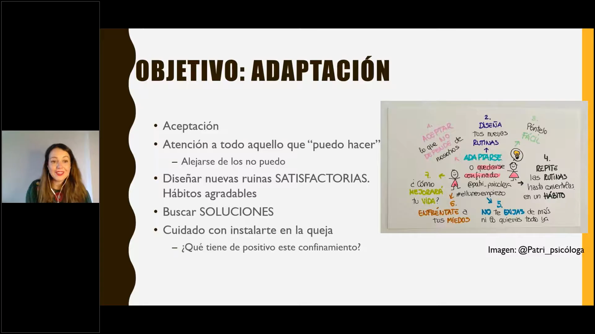 Webinar (Spanish): Psychological tools while in confinement