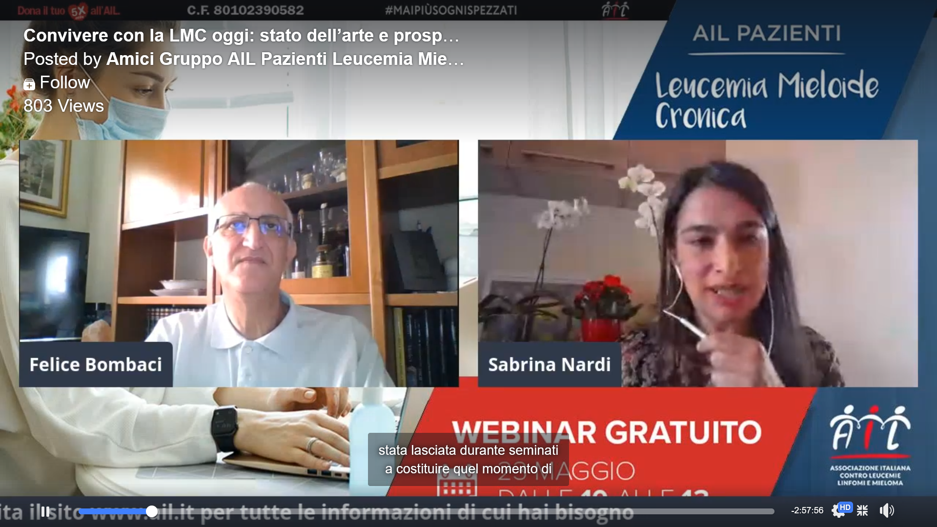 Webinar (in Italian): CML, state of the art and future prospects