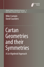 Cartan Geometries and their Symmetries: A Lie Algebroid Approach