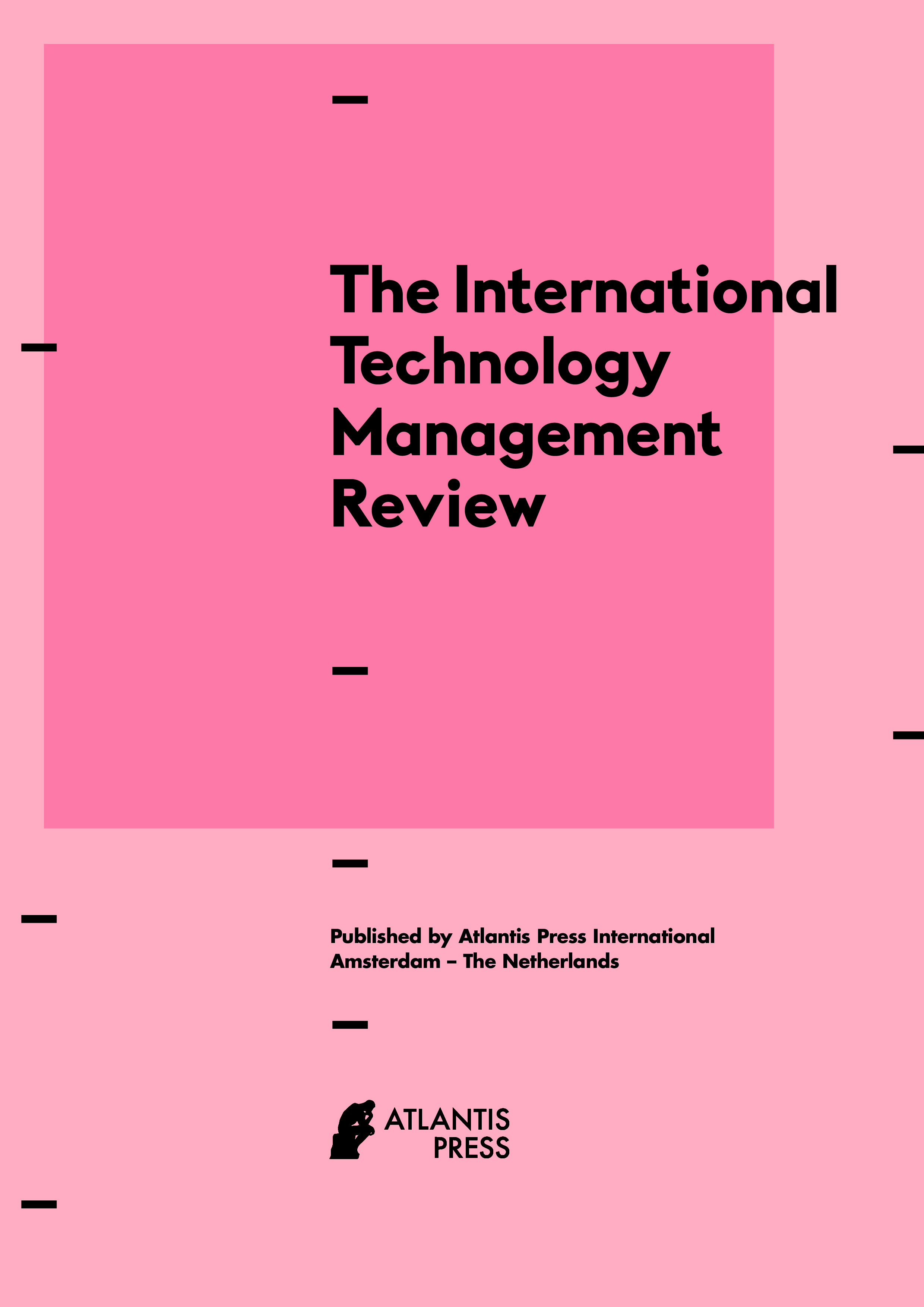 The International Technology Management Review - Preface | Atlantis
