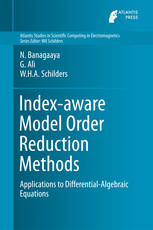 Index-aware Model Order Reduction Methods: Applications to Differential-Algebraic Equations