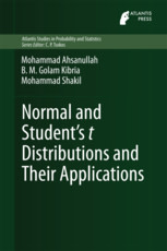 Normal and Student's t Distributions and Their Applications
