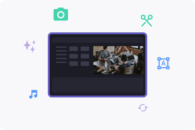 Use Clipchamp's toolkit to trim videos, add music, resize them, convert them, and more