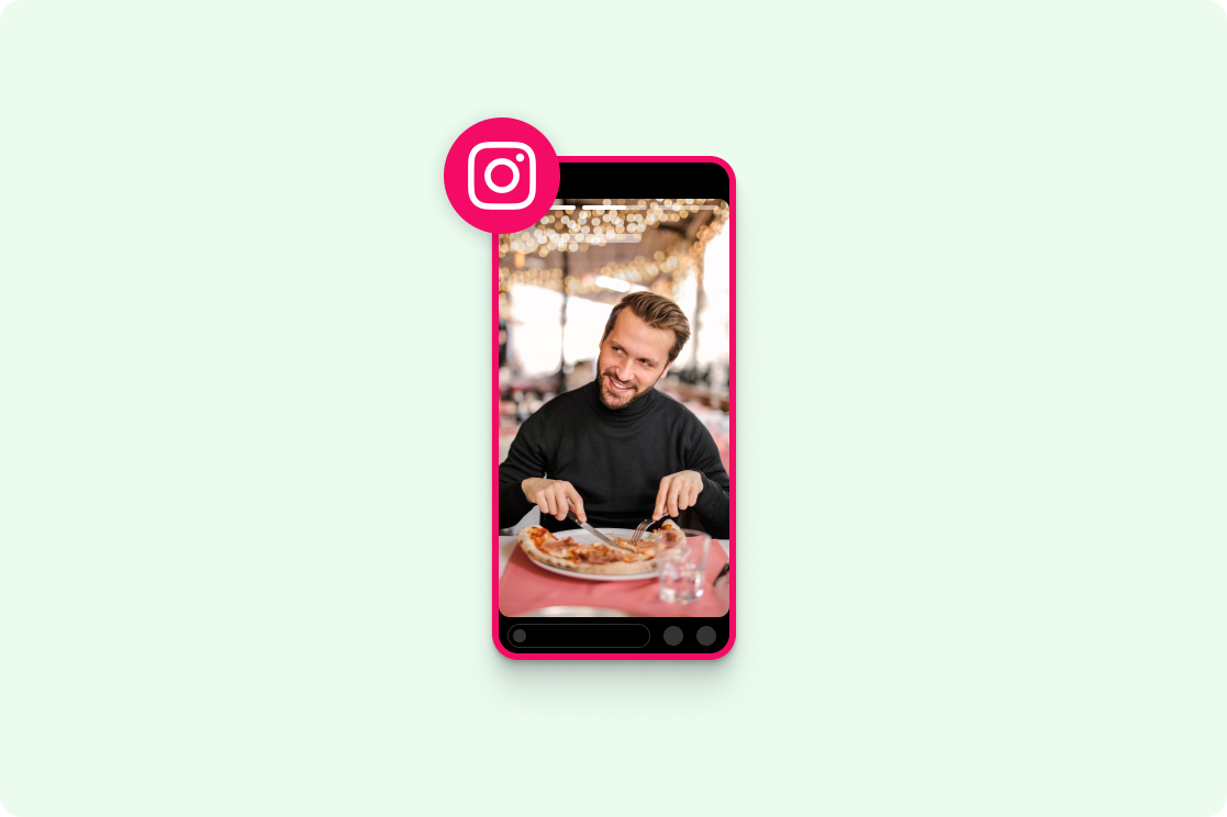 Instagram story ad maker