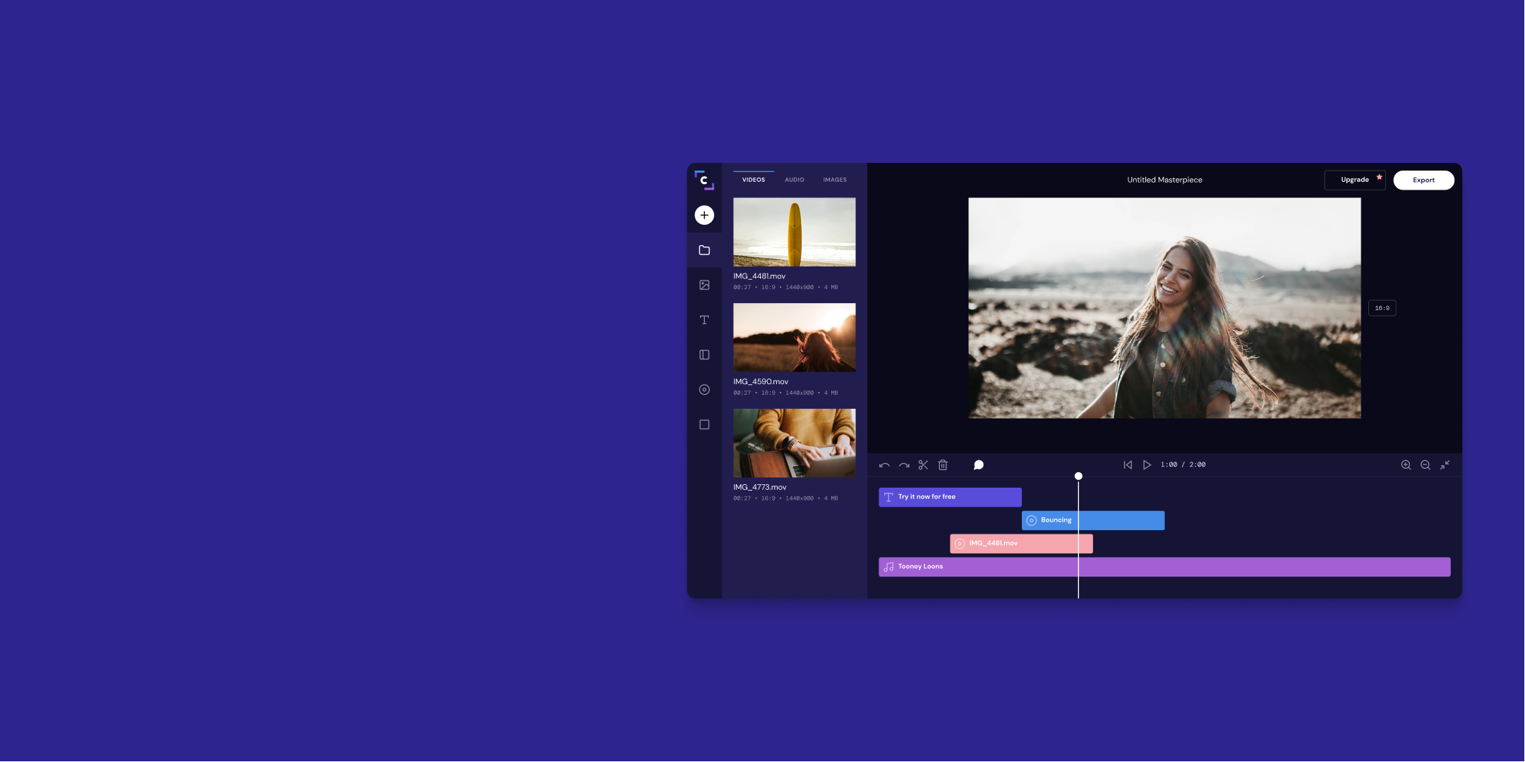 Clipchamp Online Video Editor Fast Free Easy