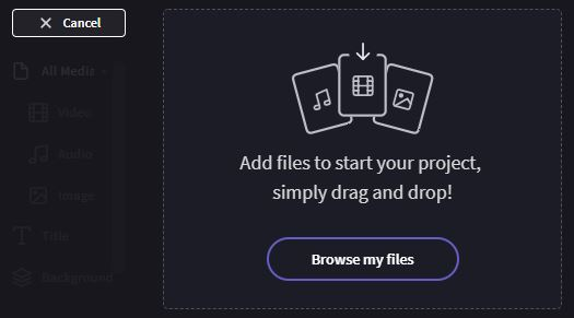 Browse video files on your computer