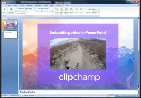 video-powerpoint-clipchamp