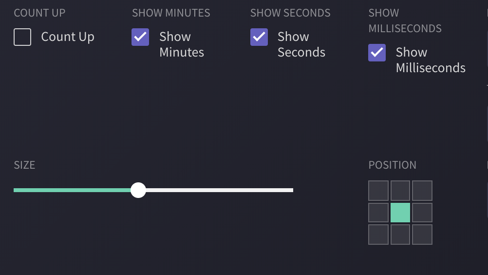 Timer feature in Clipchamp Create.