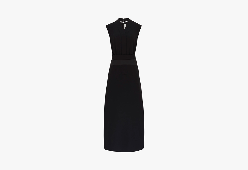 Victoria Victoria Beckham Sleeveless Long Dress