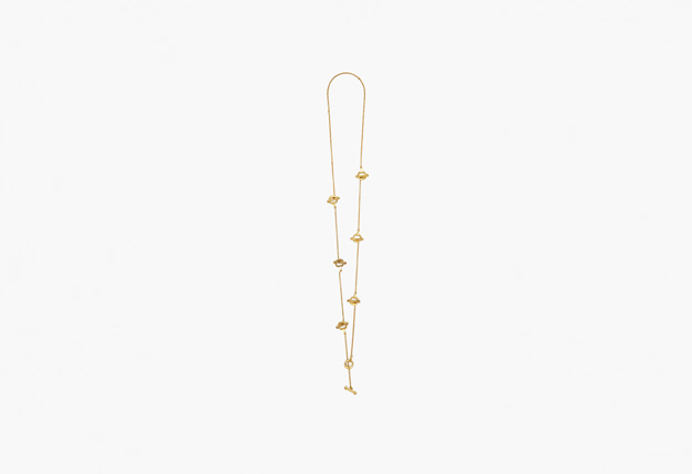 Victoria Beckham Bridle Necklace Pendant with Chain
