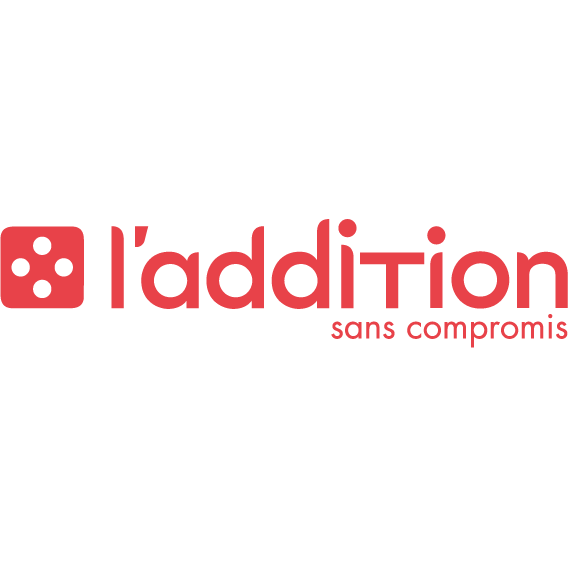 logo caisse l addition