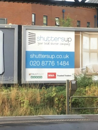 Offline Billboard Advertisement shuttersup.co.uk