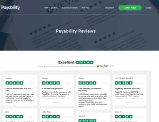 Payability's Reviews Page