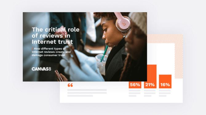 The critical role of reviews in internet trust