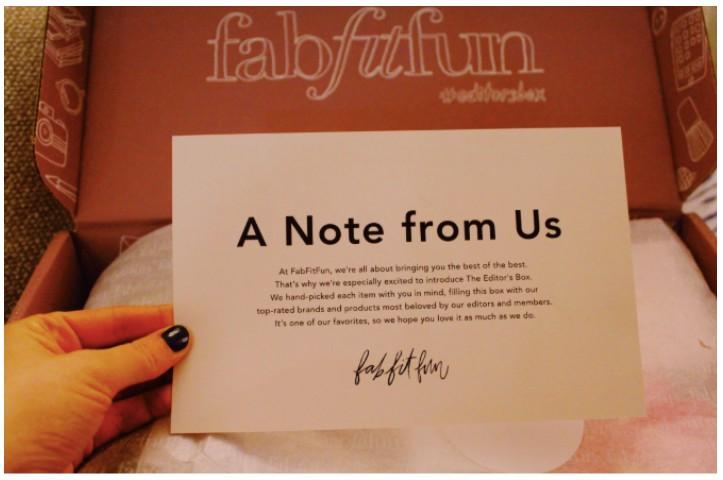 fabfitfun personalised marketing