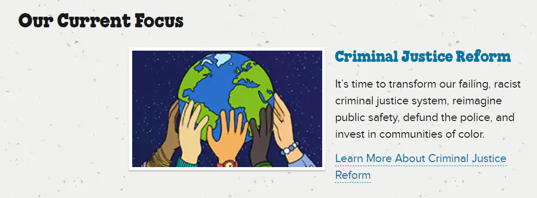 Ben & Jerries focuses on criminal justice reform