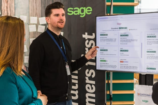 Sage's customer-centric culture