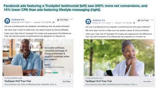 TaxSlayer Pro improved ad performance with Trustpilot