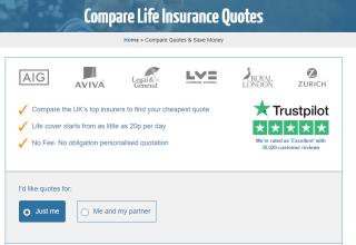 reassured comparison page