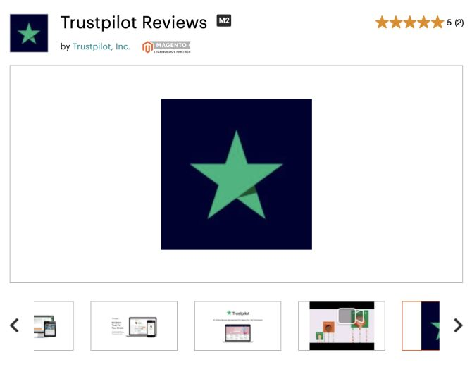 Trustpilot Reviews Extension for Magento