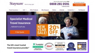 Staysure leverages trust throughout the user journey