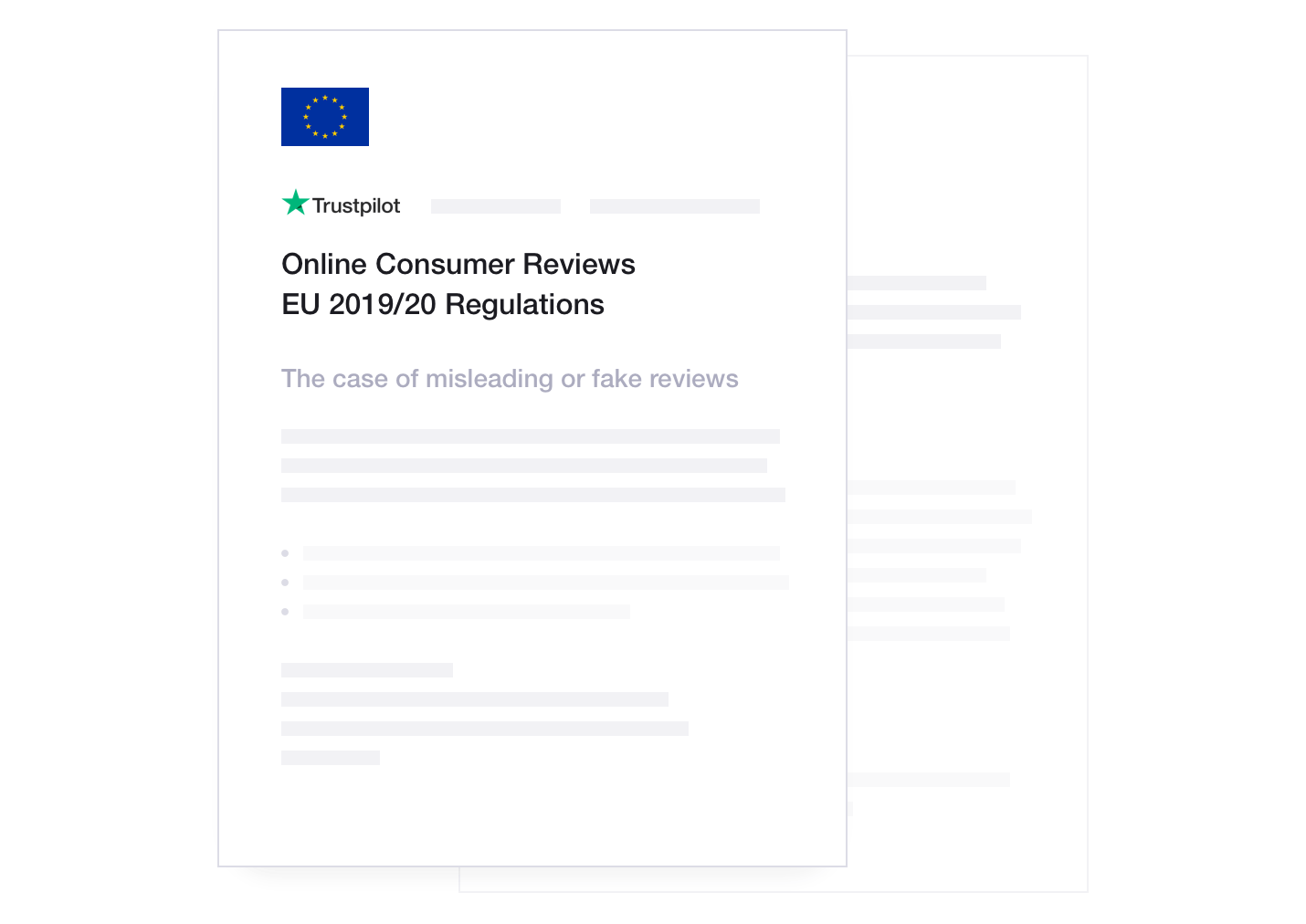 Trustpilot compliance to EU Regulations