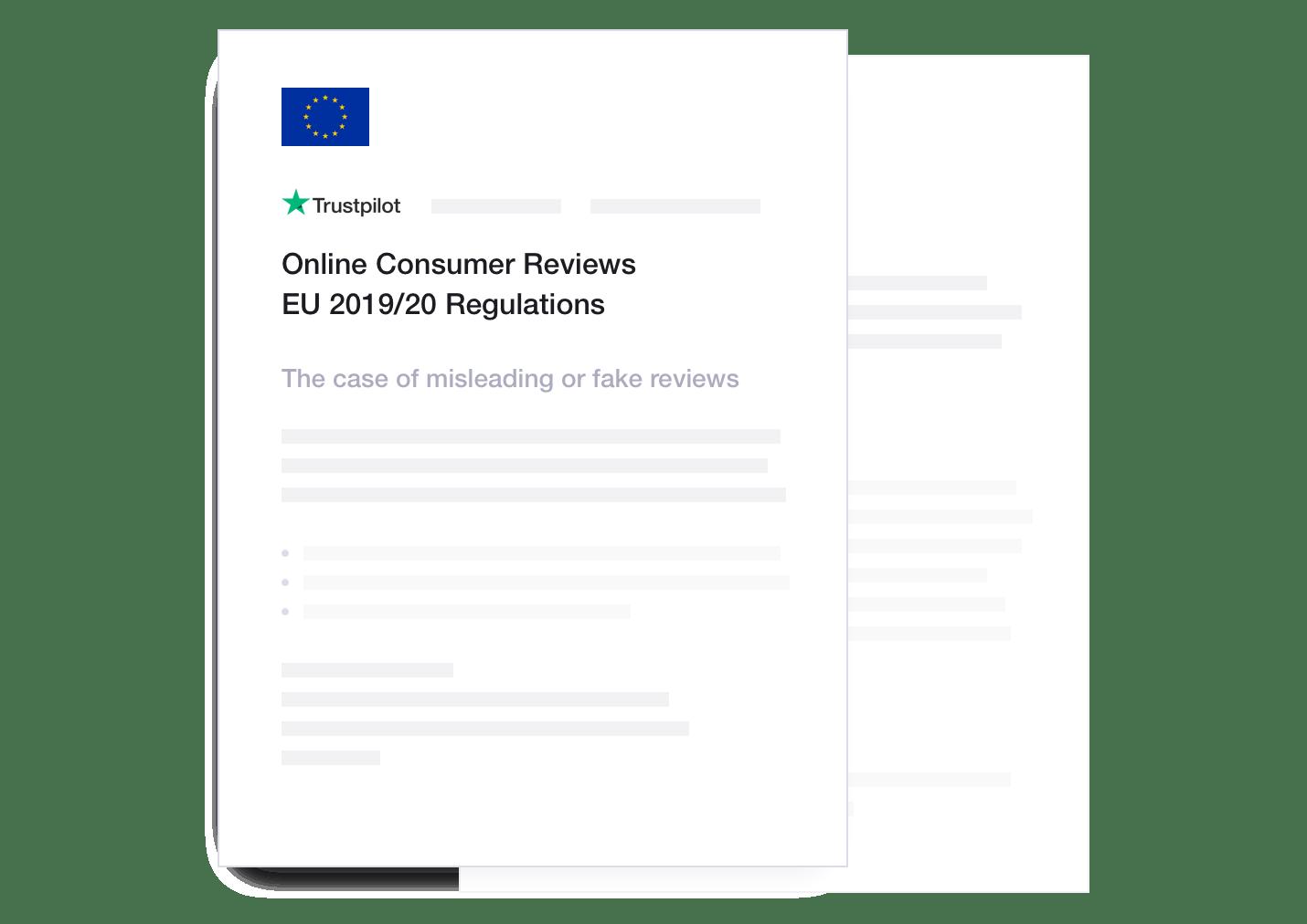 Trustpilot compliance to EU Regulations
