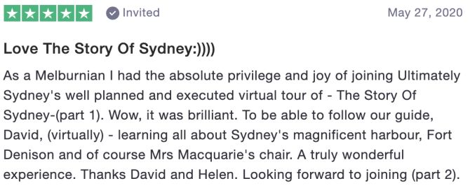 Review of Ultimately Sydney 2