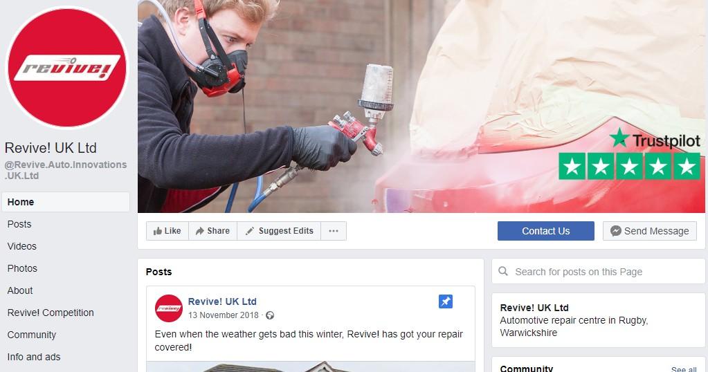 Revive Facebook
