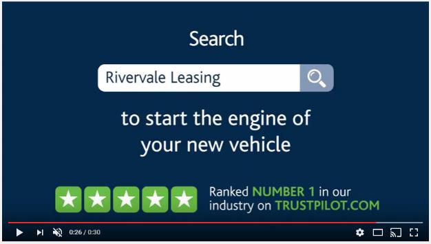 Rivervale - Trustpilot Rating on TV Advertisement