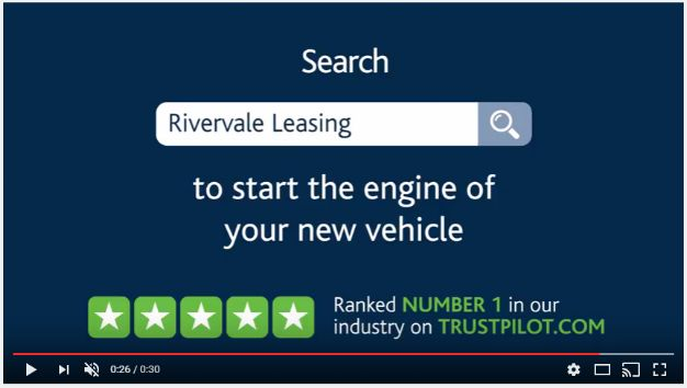 Rivervale - Trustpilot Rating on TV Advertisement