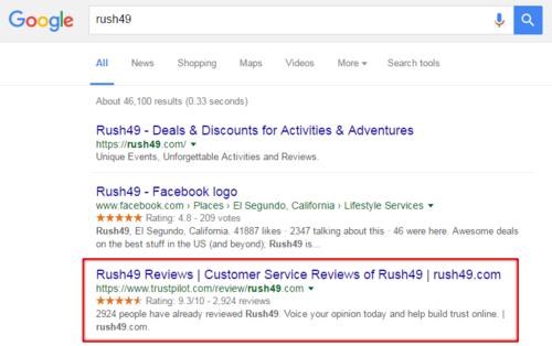 Rush49-google-star-ratings