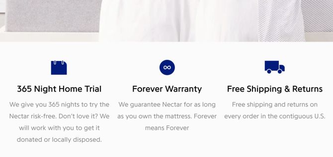 Nectar Mattress Friendly Return Policies