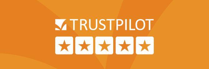 Trustpilot logo banner