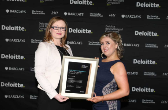 Blue Insurance Announced as One of Ireland's Best Managed Companies