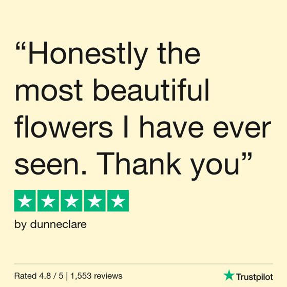 Flowers.ie reviews social media 2