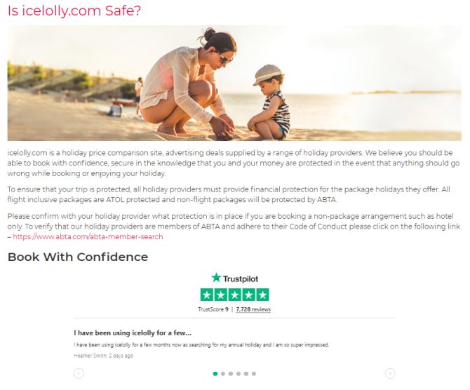 Icelolly trustpilot widget website.PNG