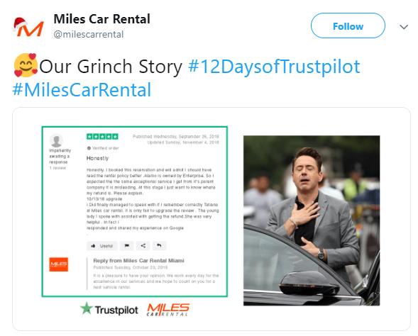 day 2 of Trustpilot