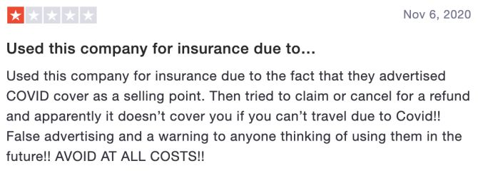 Review of Staysure Travel Insurance