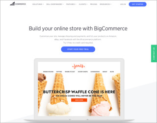 screenshot bigcommerce website 700x550