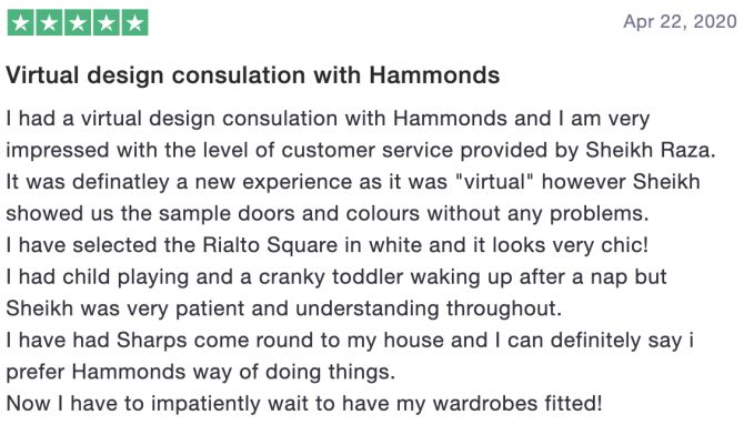 Review of Hammonds Furniture