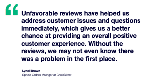 CardsDirect x Trustpilot Testimonial - Lynell Brown