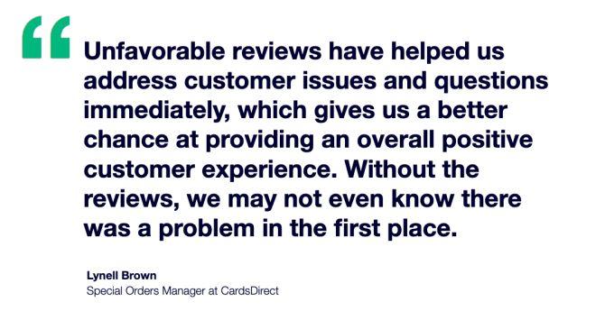 CardsDirect x Trustpilot Testimonial - Lynell Brown
