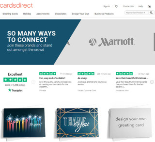 CardsDirect Trustpilot Reviews in Paid Search Landing Pages