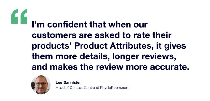 Lee Bannister Product Attributes Quote