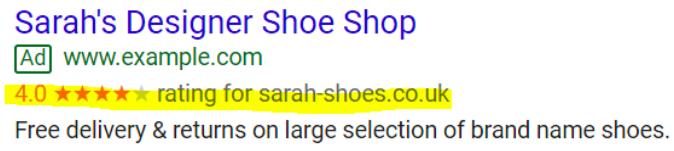 GSR example highlighted