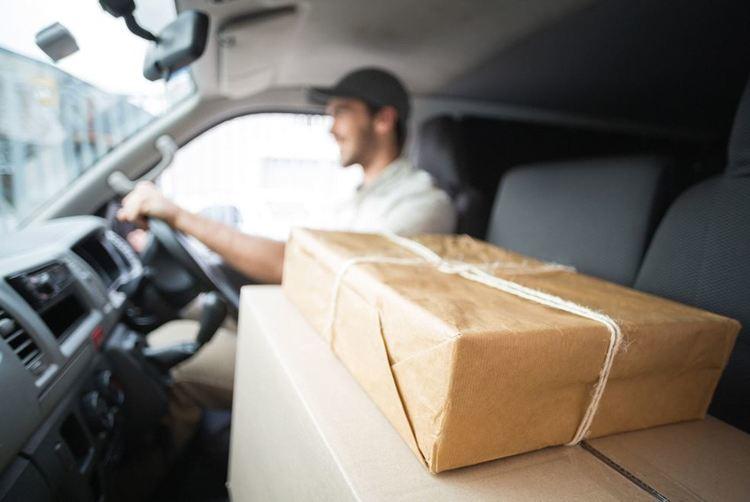 package in truck