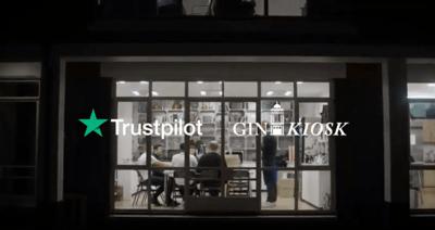 Trustpilot Gin Kiosk case study